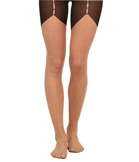 Wolford - Tilda Tights (Sahara/Black) Hose