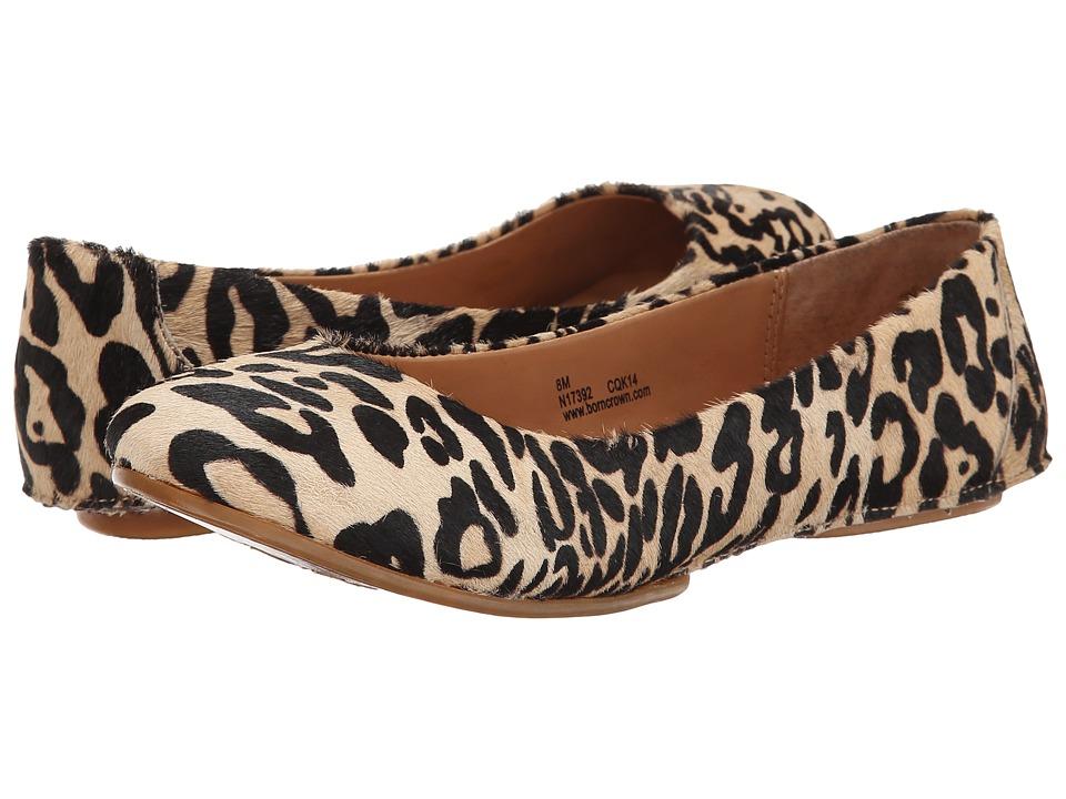 Born - Stowaway II - Crown Collection (Tan Hair Calf) Women's Flat Shoes