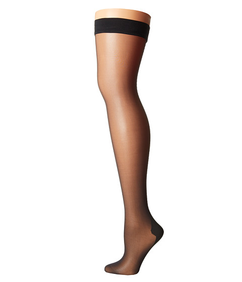 Wolford - Flavia Stay-Up (Black/Black) Hose