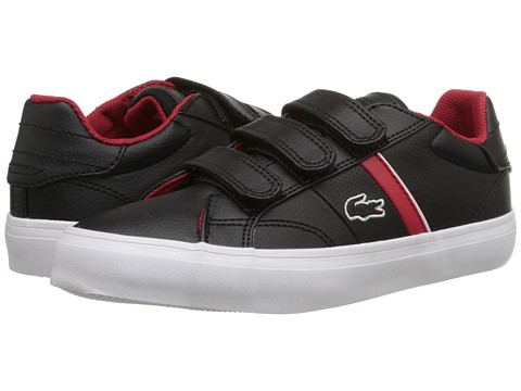 Lacoste - Fairlead FSM SP15 (Little Kid) (Black/Red) Men
