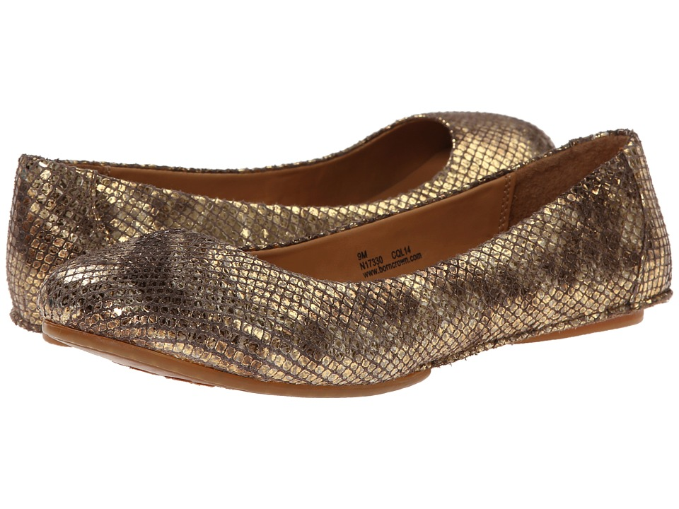 Born - Stowaway II - Crown Collection (Gold Snake Metallic) Women