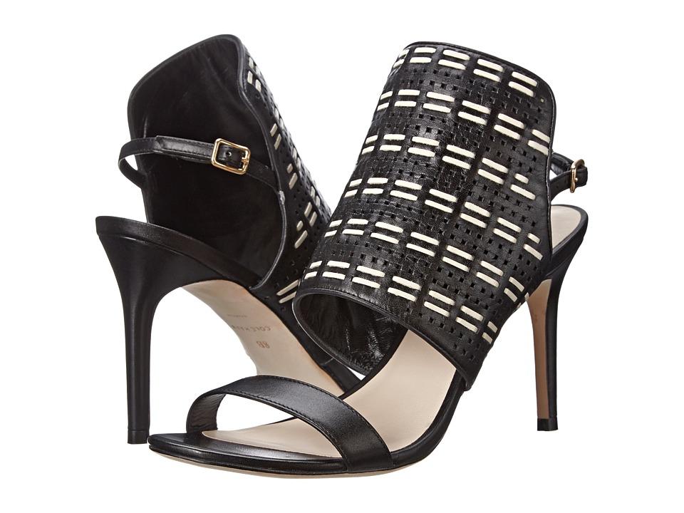 Cole Haan Arista Sandal (Black/Ivory) High Heels