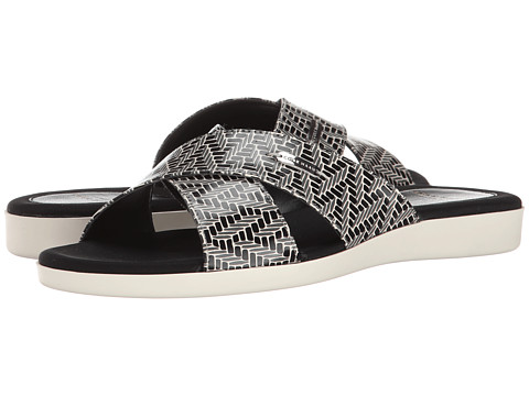 Cole Haan - Augusta Sandal (Black/White Chevron Print) Women's Shoes