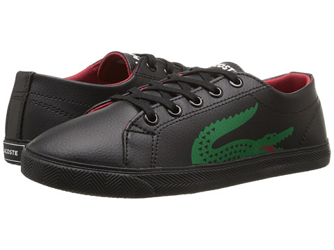 Lacoste - Marcel CLC SP15 (Little Kid) (Black/Black) Men's Lace up casual Shoes
