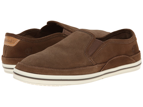Timberland - Earthkeepers Casco Bay Leather Slip-On (Brown) Men