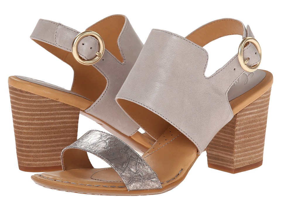 Born - Gaby - Crown Collection (Light Grey/Marmo Combo) High Heels