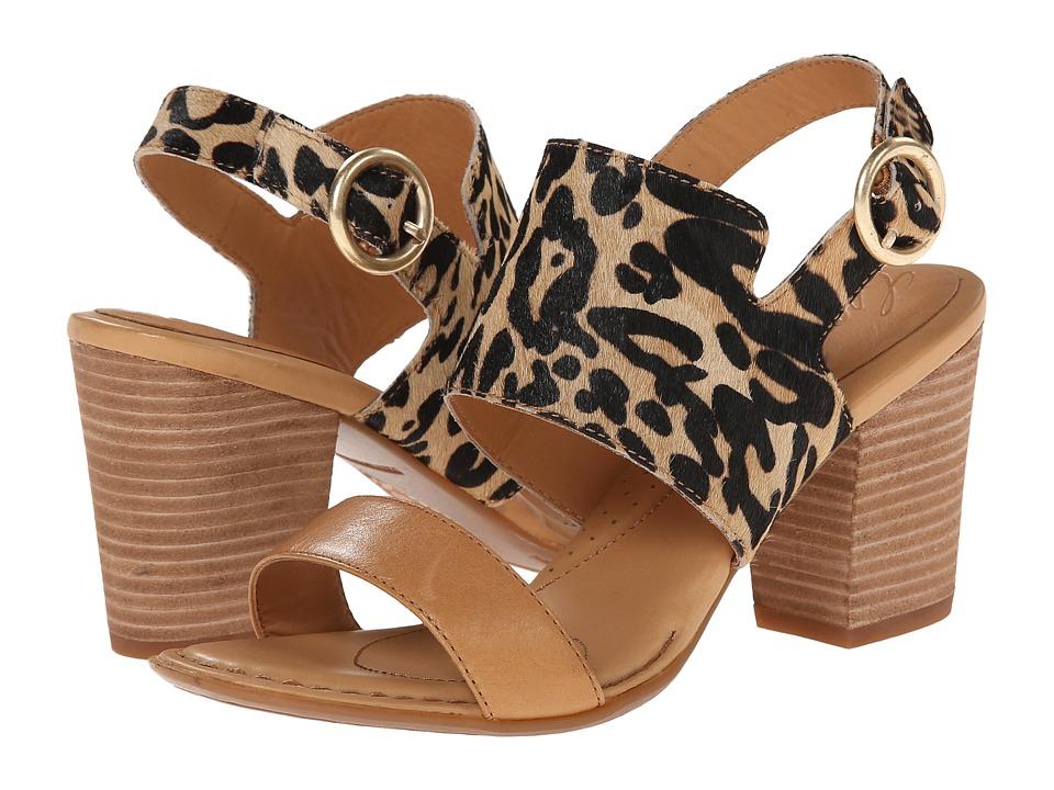 Born Gaby Crown Collection (Tan Hair Calf Combo) High Heels