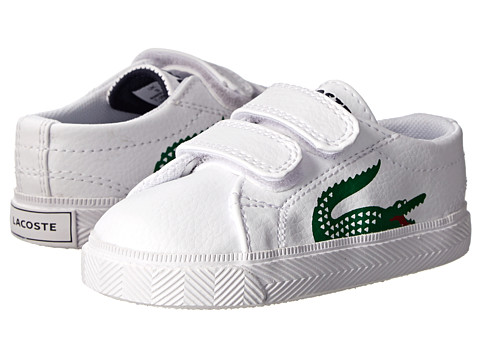 Lacoste Kids - Marcel CLC2 SP15 (Toddler/Little Kid) (White/White) Boy's Shoes