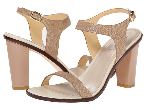Cole Haan - Cambon High Sandal (Cashew/Lizard Print) High Heels