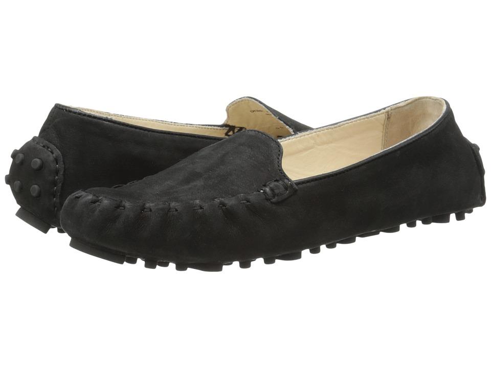 Cole Haan - Cary Venetian (Black Nubuck) Women's Slip on Shoes