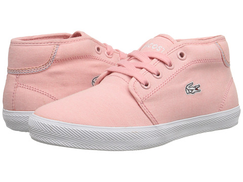 Lacoste - Ampthill SEG SP15 (Little Kid) (Light Pink/Light Pink) Women's Lace up casual Shoes