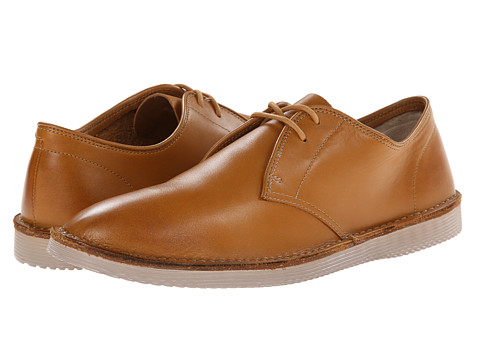 Clarks - Darning Walk (Cognac Leather) Men's Shoes