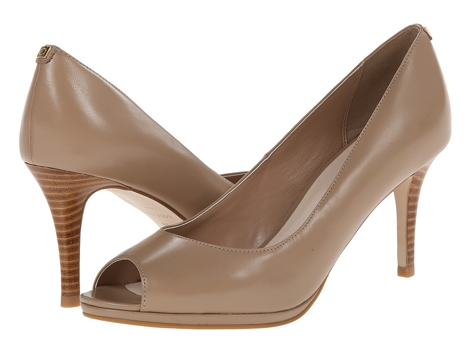 Cole Haan Davis Open Toe Pump (Maple Sugar) Women
