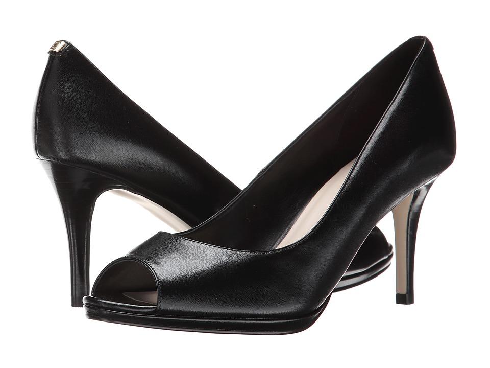 Cole Haan - Davis Open Toe Pump (Black) Women's Shoes