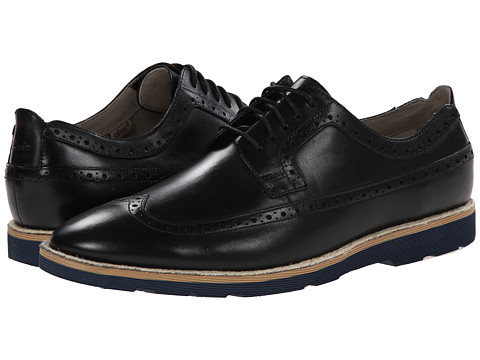 Clarks - Gambeson Limit (Black Leather) Men's Shoes