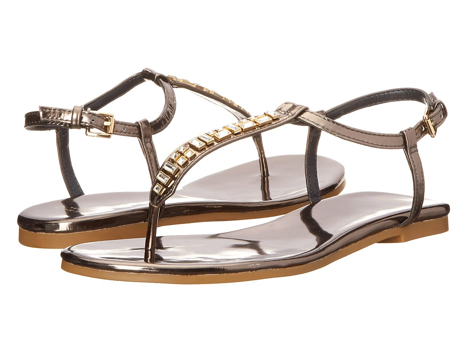 Cole Haan - Effie Jewel Sandal (CH Gunmetal) Women's Beads/Ornaments Shoes