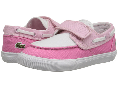 Lacoste - Keel CLC SP15 (Toddler/Little Kid) (Pink/Light Pink) Women