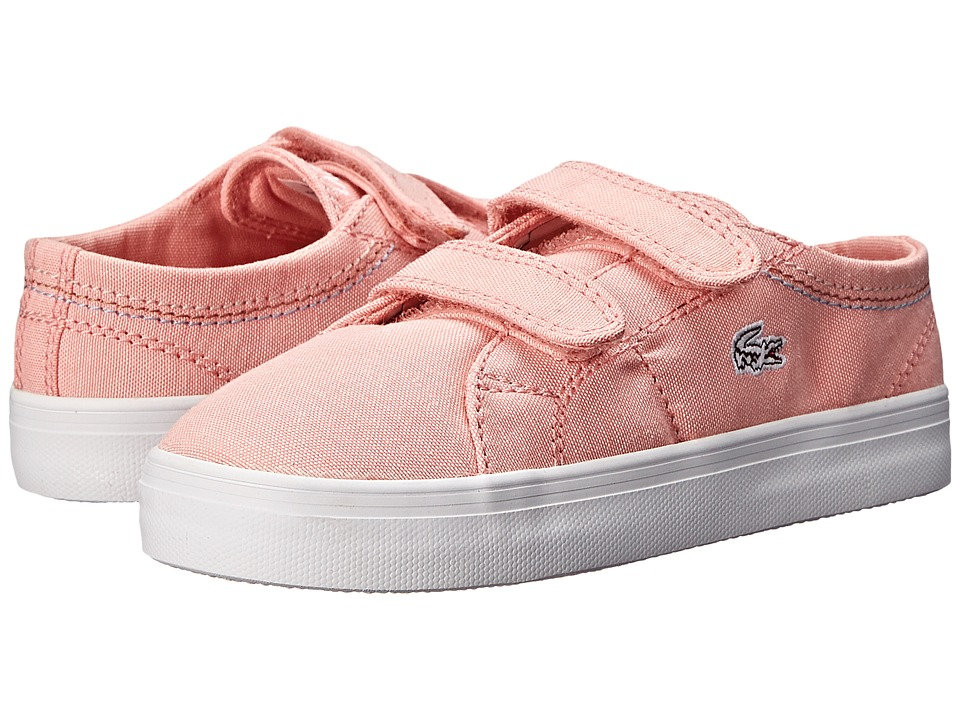 Lacoste - Marcel Chunky SEG SP15 (Toddler/Little Kid) (Light Pink/Light Pink) Women's Lace up casual Shoes