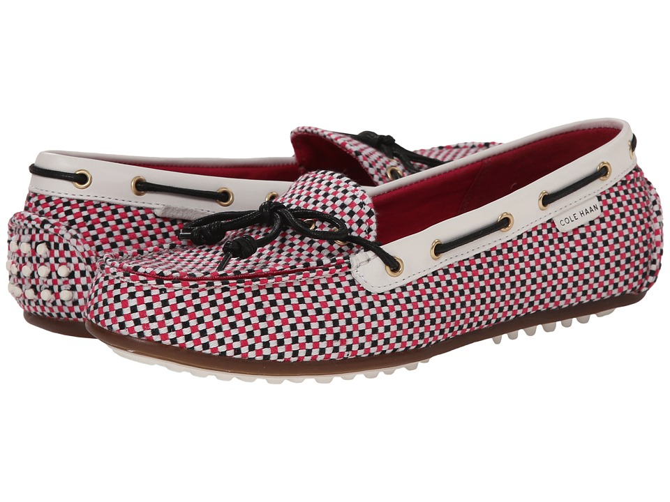 Cole Haan - Grant Escape (Pink Multi Print/Optic White) Women's Moccasin Shoes