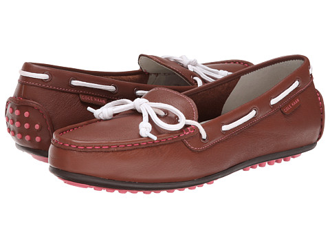 Cole Haan - Grant Escape (Brown Leather) Women's Moccasin Shoes