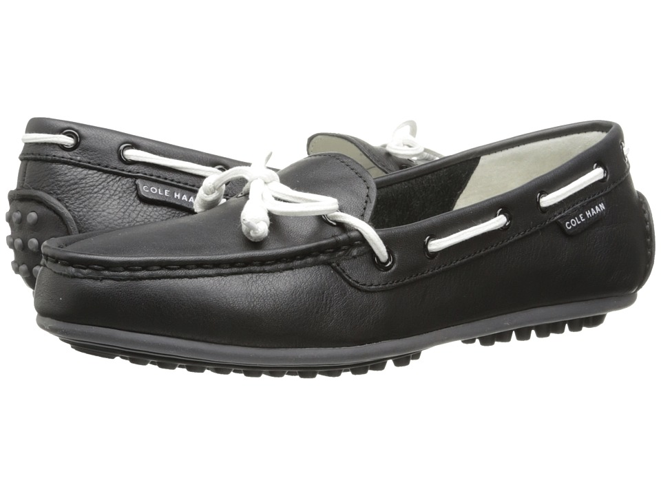 Cole Haan - Grant Escape (Black Leather) Women's Moccasin Shoes