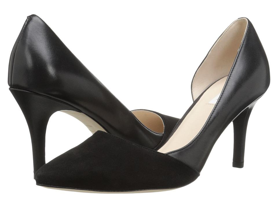 Cole Haan - Highline Pump (Black Suede/Black) High Heels