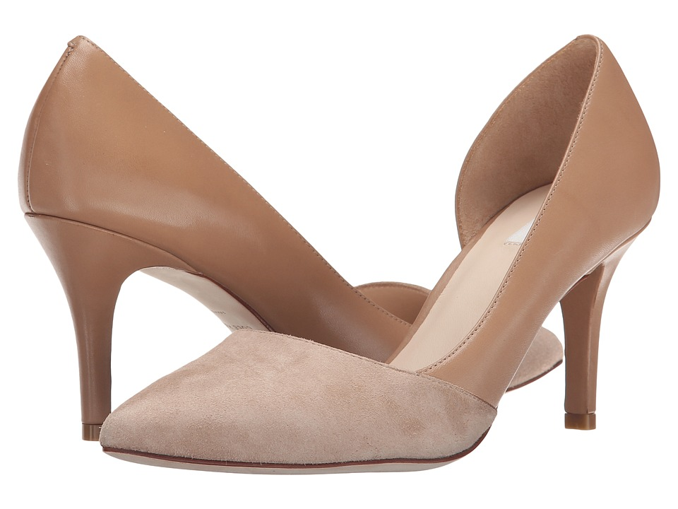 Cole Haan - Highline Pump (Cashew Suede/Maple Sugar) High Heels