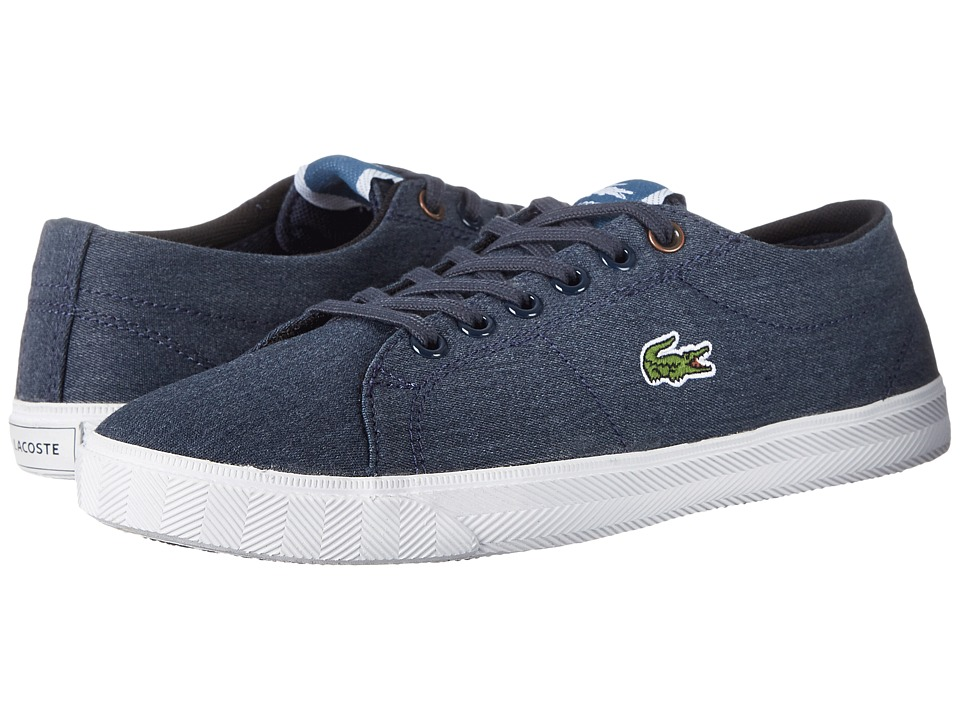 Lacoste - Marcel CSU2 SP15 (Little Kid/Big Kid) (Dark Blue/Dark Blue) Shoes