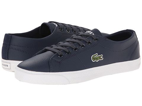 Lacoste Kids - Marcel LCR SP15 (Little Kid/Big Kid) (Dark Blue/Dark Blue) Kids Shoes