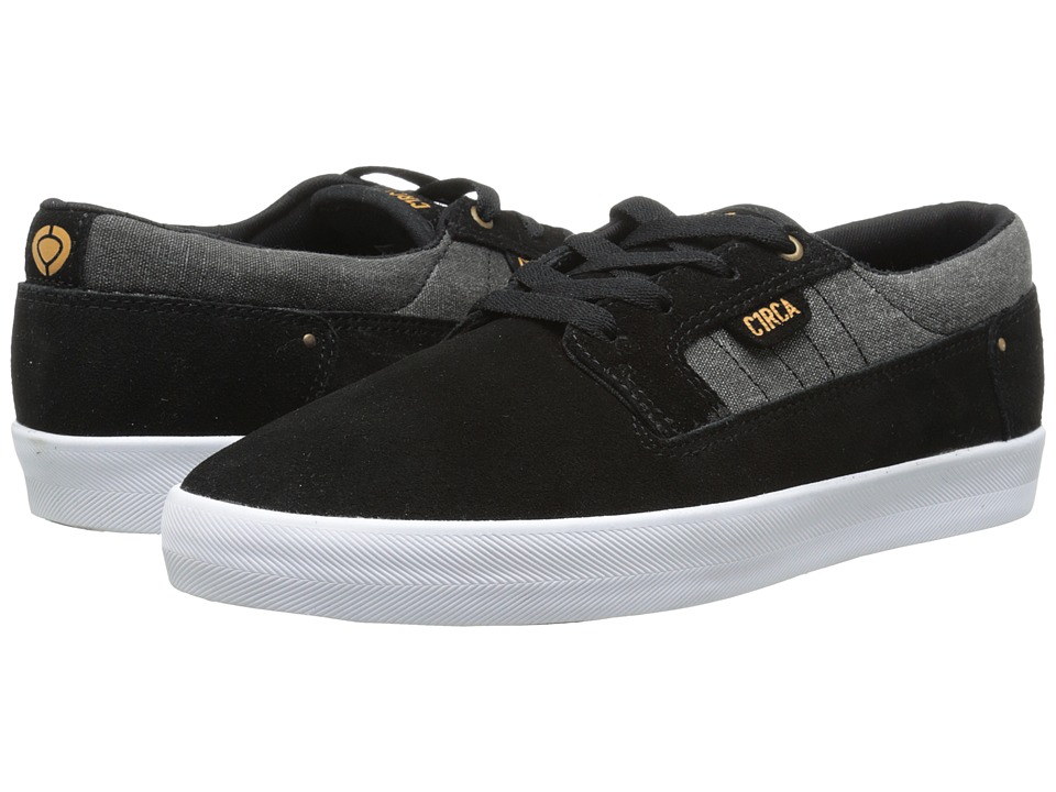 Circa - Lancer (Black/Inca Gold) Men's Shoes