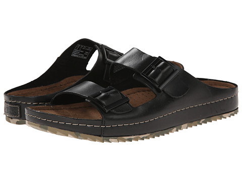 Clarks - Netrix Buck (Black Leather) Men