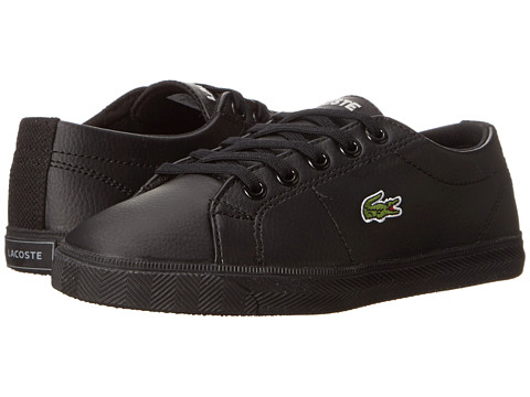 Lacoste Kids - Marcel LCR SP15 (Little Kid) (Black/Black) Kid