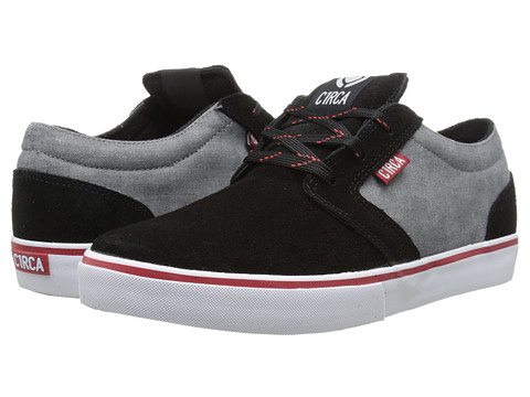 Circa - Hesh (Black/Midnight) Men's Skate Shoes