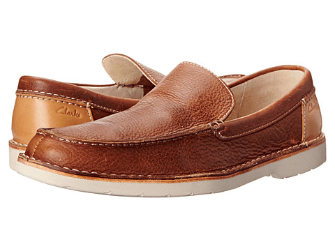 Clarks - Hinton Sun (Tan Leather) Men