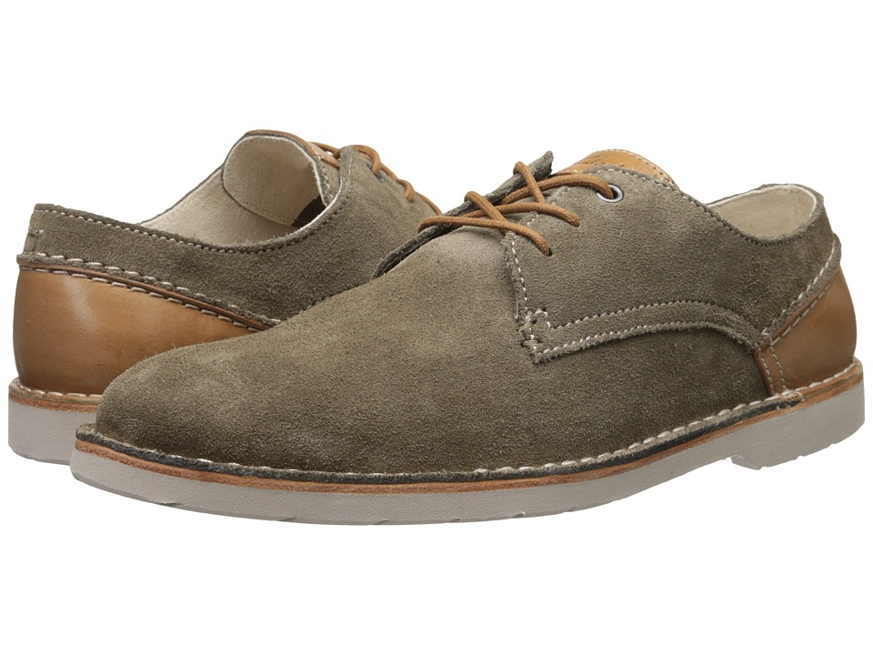 Clarks - Hinton Fly (Khaki Suede) Men's Shoes