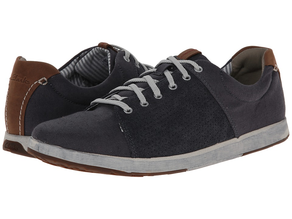 Clarks - Norwin Style (Navy) Men's Shoes
