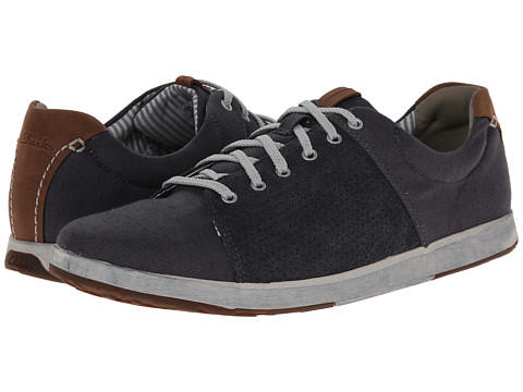 Clarks - Norwin Style (Navy) Men