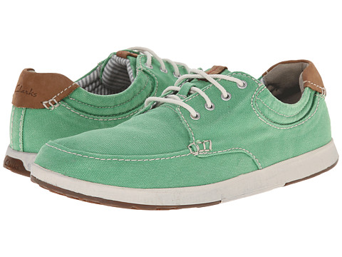 Clarks - Norwin Vibe (Green) Men's Shoes
