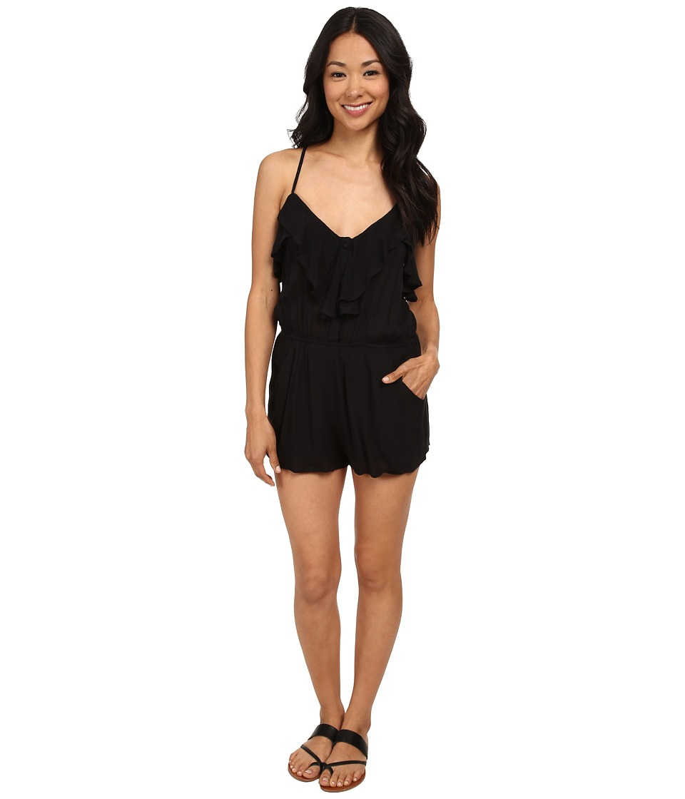 Billabong - Dream Escape Romper (Black) Women's Jumpsuit & Rompers One Piece