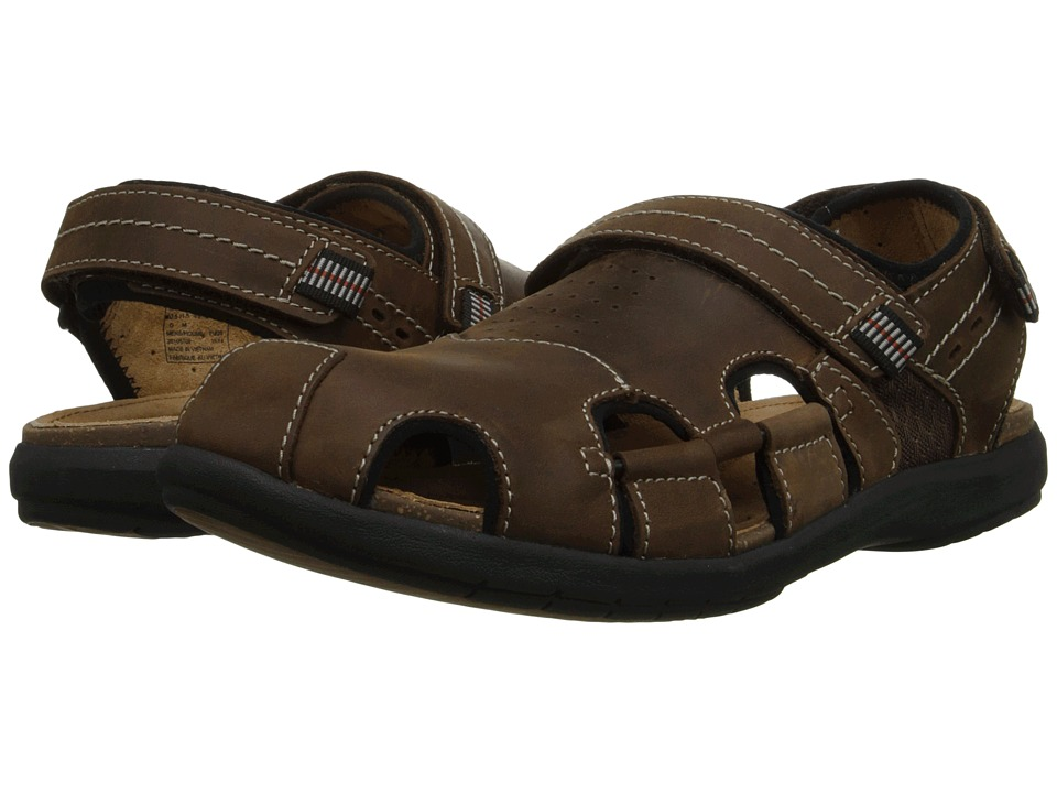 Clarks - Un.Bryman Bay (Brown Leather) Men's Sandals