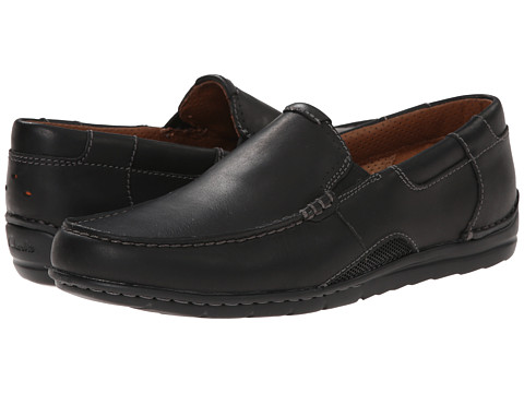 Clarks - Un.Graysen Free (Black Leather) Men