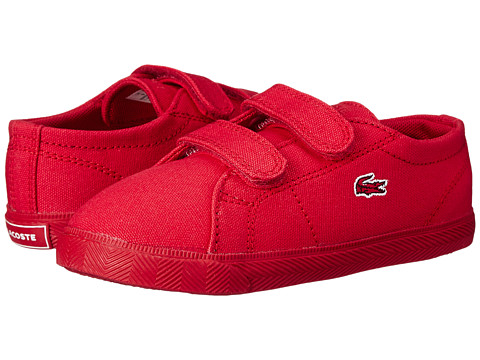 Lacoste - Marcel FSM SP15 (Toddler/Little Kid) (Red/Red) Shoes