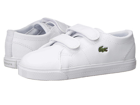 Lacoste Kids - Marcel LCR SP15 (Toddler/Little Kid) (White/White) Kid's Shoes