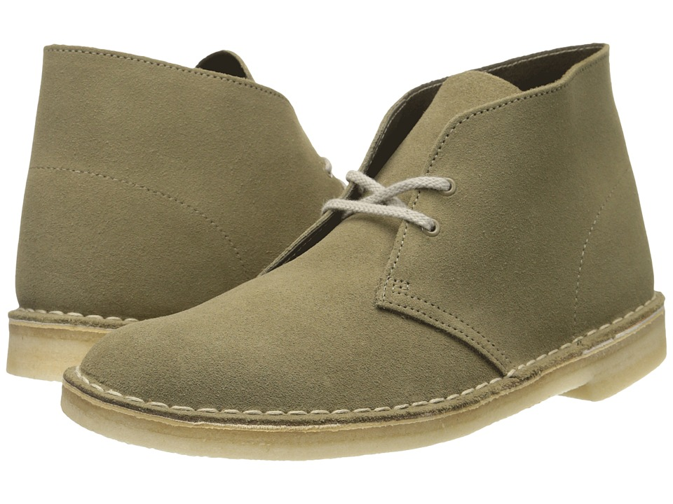 Clarks - Desert Boot (Truffle Suede) Men's Lace-up Boots