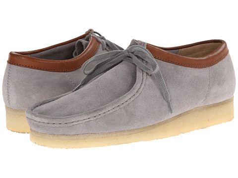 Clarks - Wallabee (Storm Suede) Men's Lace up casual Shoes
