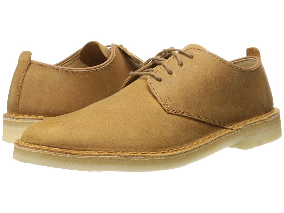 Clarks - Desert London (Mustard Leather) Men