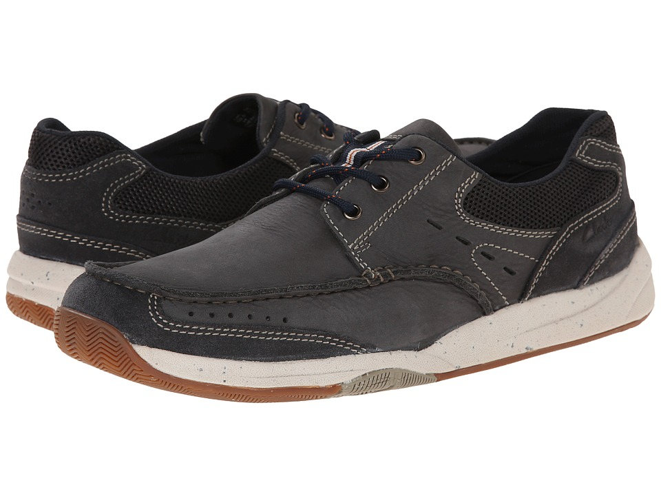 Clarks Allston Edge (Navy Nubuck) Men