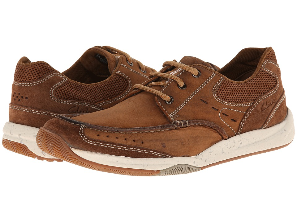 Clarks Allston Edge (Tan Nubuck) Men