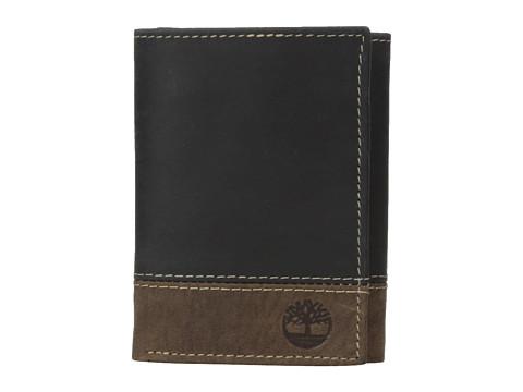 Timberland - Nappa Trifold (Black) Wallet Handbags