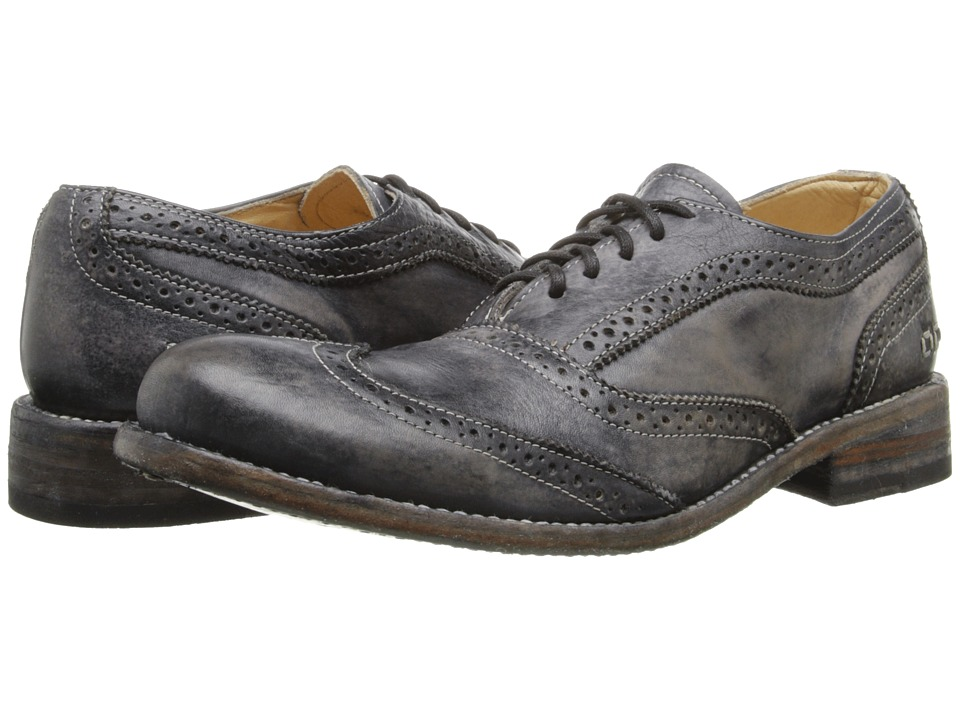 Bed Stu - Corsico (Black Driftwood) Men's Lace Up Wing Tip Shoes
